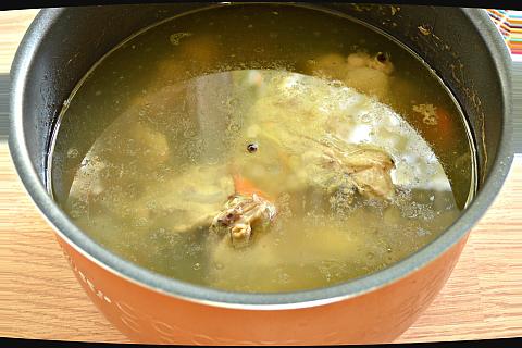 куриный бульон пошаговый рецепт с фото