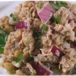 салат с тунцом без майонеза