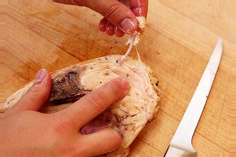 remove the bones from the suvida breast