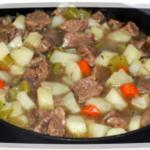 рецепт говядины тушеной на сковороде