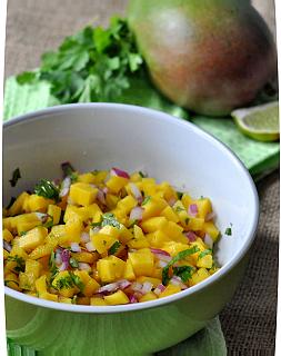 рецепт приготовления домашней сальсы из манго