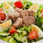 Классический рецепт салата из тунца
