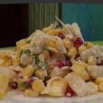 салат ананасы с сыром и чесноком рецепт