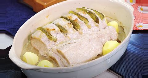 как приготовить кусок свинины в духовке