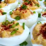 zimne przekąski nadziewane jajka