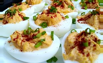 холодные закуски яйца фаршированные