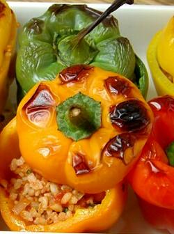 перец фаршированный с рисом рецепт