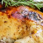 Курица запеченная в духовке в фольге