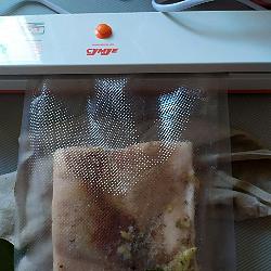 сало вареное в пакете сало сувид запаиваем вакуумный пакет